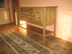 Paul Schutter Mission Sideboard