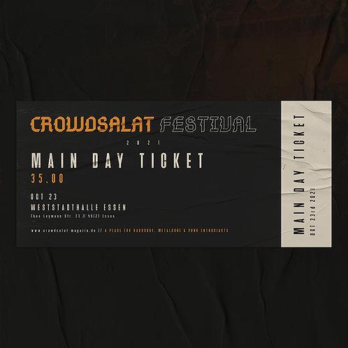 CROWDSALAT FESTIVAL 21 - Main Day - Samstag