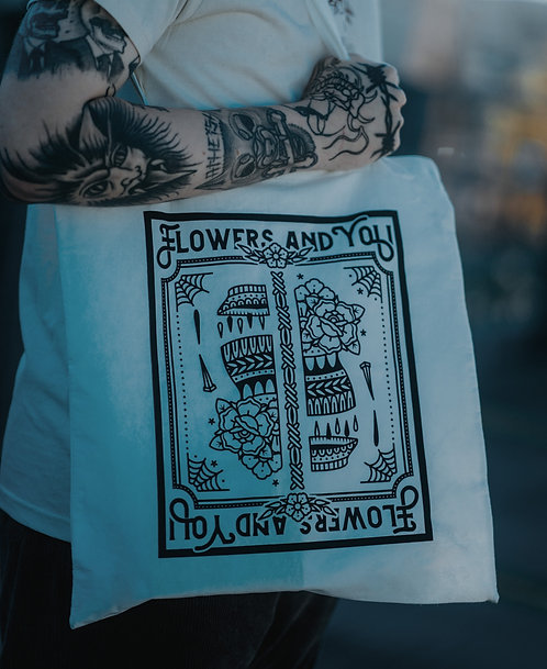 FLOWERS AND YOU - Beutel