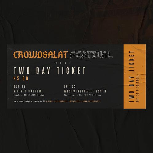 CROWDSALAT FESTIVAL 21 - Both Days