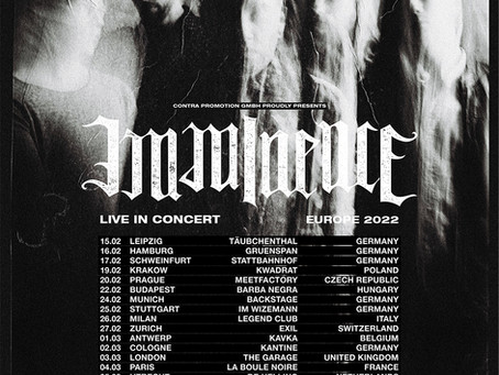 IMMINENCE kommen auf Tour!