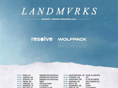 SHOWS: LANDMVRKS Tour im April 2021