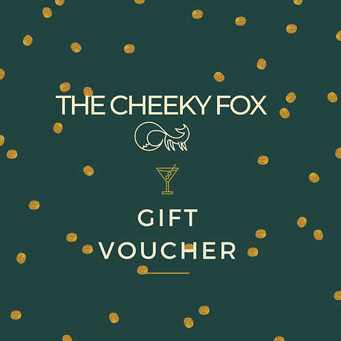 Cheeky Fox Gift Voucher