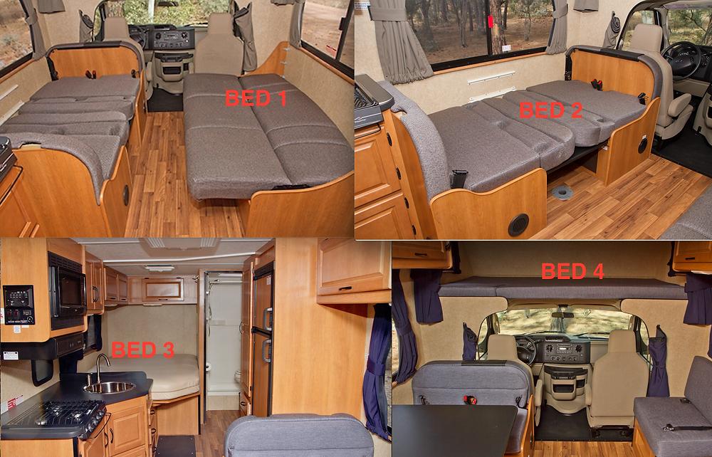 Tailgate Professional RV Tailgate Interior