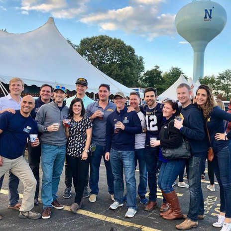 Tailgate Professional   Navy Football Tailgate 2018 vs Lehigh