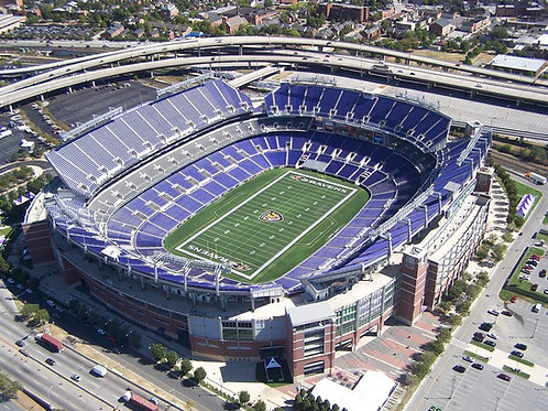 M&T Bank Stadium in Baltimore MD