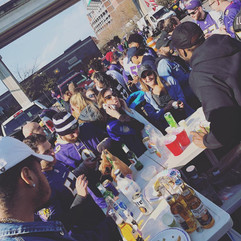 Tailgate Professional | Baltimore Ravens Football Tailgate 2018 vs. Cleveland