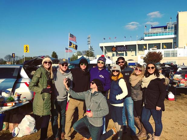 Tailgate Professional   Navy Football Tailgate 2018 vs Tulsa