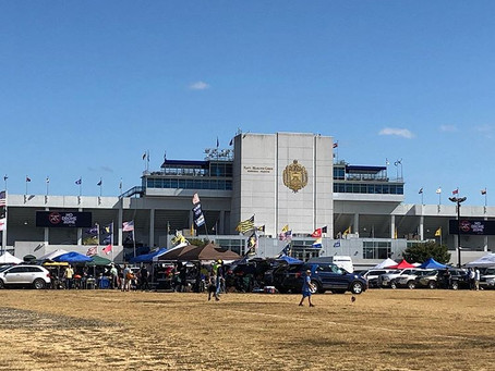 What is going on with tailgate parking at Navy?