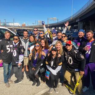 Tailgate Professional | Baltimore Ravens Football Tailgate 2017 vs. Steelers