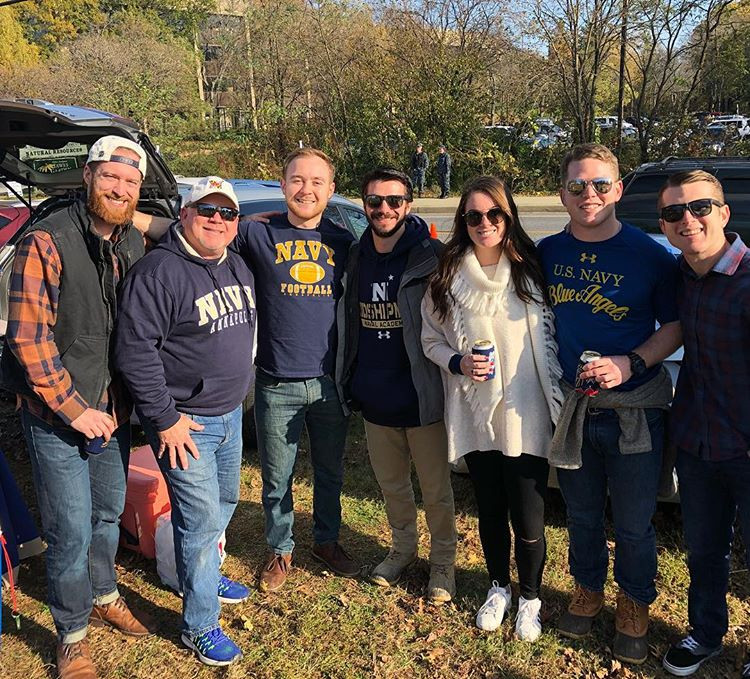 Tailgate Professional   Navy Football Tailgate 2018 vs Houston