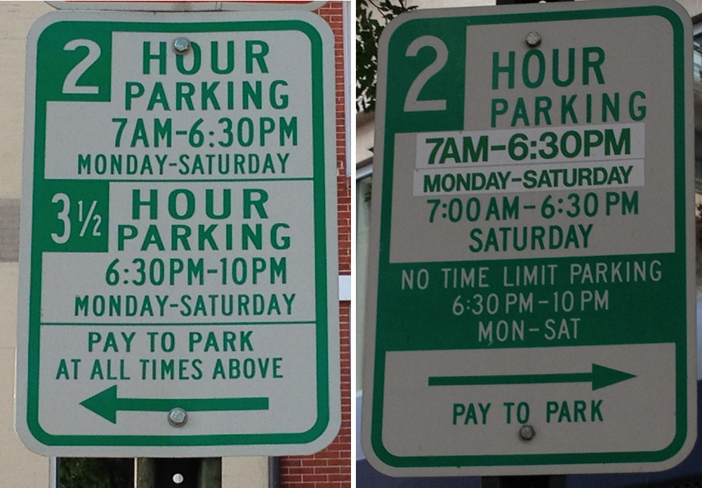 Tailgate Professional Baltimore Ravens Confusing Parking Sign
