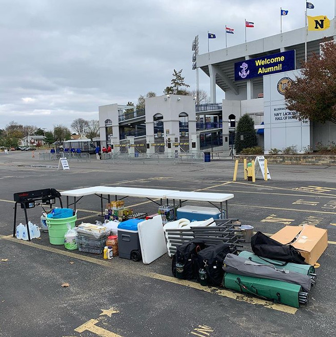Tailgate Professional   Navy Tailgate 2018