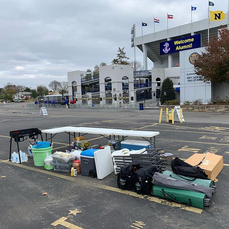 Tailgate Professional   Navy Football Tailgate 2017 vs Air Force