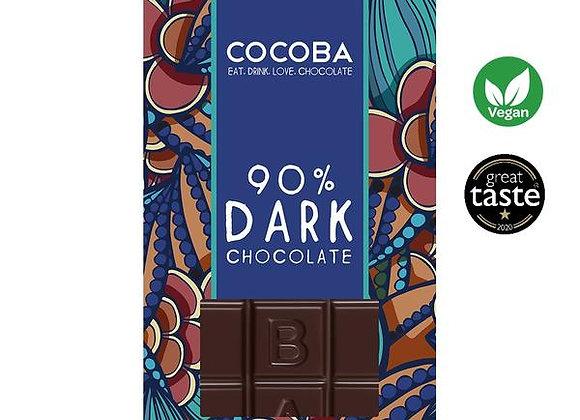 90% DARK PREMIUM CHOCOLATE BAR