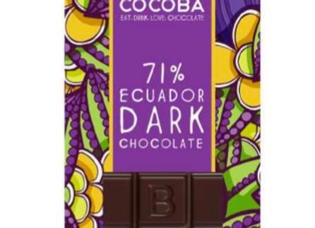 GRAND CRU 71%  Dark PREMIUM CHOCOLATE BAR