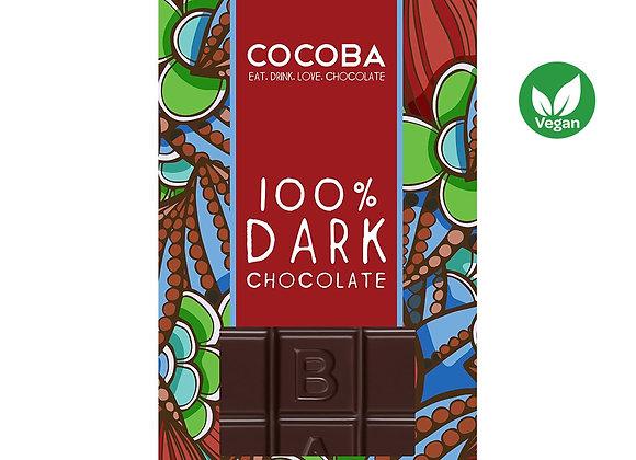100% DARK PREMIUM CHOCOLATE BAR
