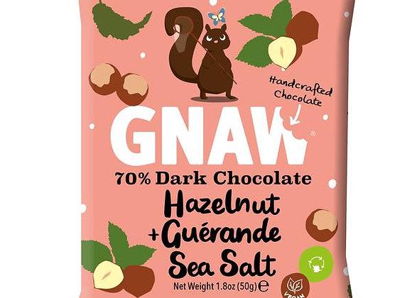 NEW Hazelnut & Guerande Sea Salt Dark Chocolate Mini Bar • Vegan 🌱