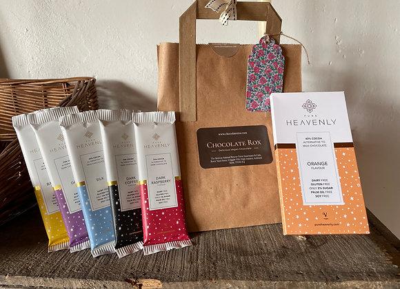 Pure Heavenly Orange Chocolate Gift Bag
