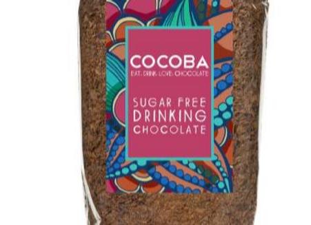 Sugar Free Drinking Chocolate Flakes 250g