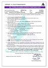 Certifikát respirátor Balerina PFHM933