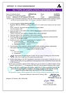 Certifikát respirátor Balerina PFHM722