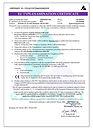 Certifikát respirátor Balerina PFHM931