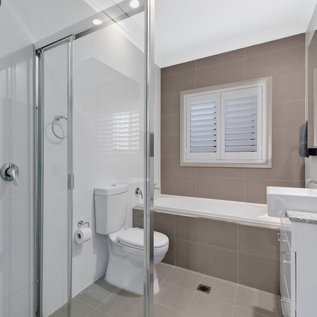 Bathroom renovation designed and constructed by Estco Projects