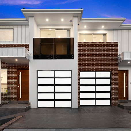 Duplex designed and constructed by Estco Projects