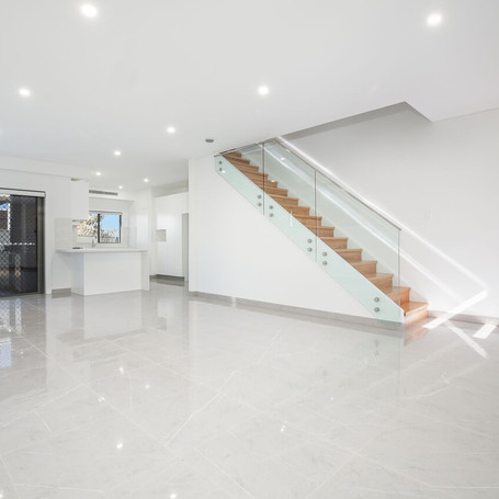 Living space designed and constructed by Estco Projects