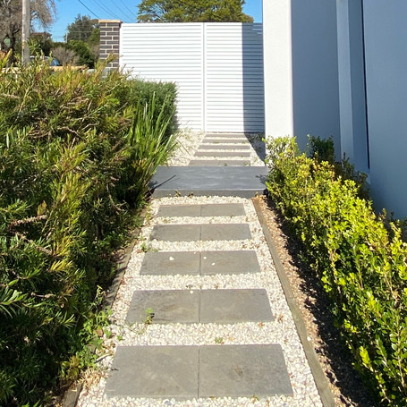 Landscaping designed and constructed by Estco Projects
