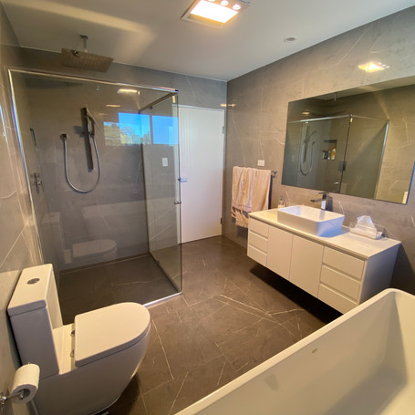 Bathroom designed and constructed by Estco Projects