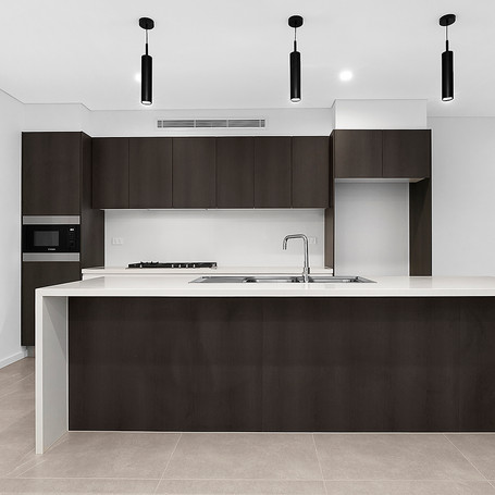 Kitchen designed and constructed by Estco Projects