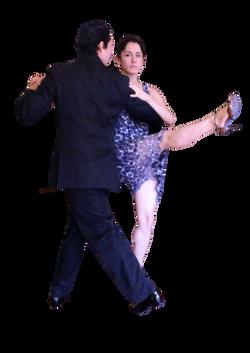 Silvia Sáez y Donato Lugardo