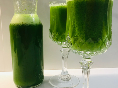 Juicing for health.