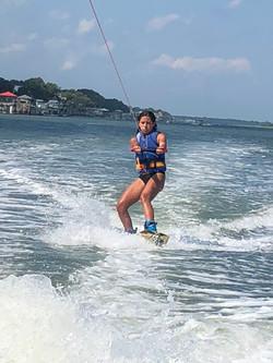 wakeboard lessons figure 8 island