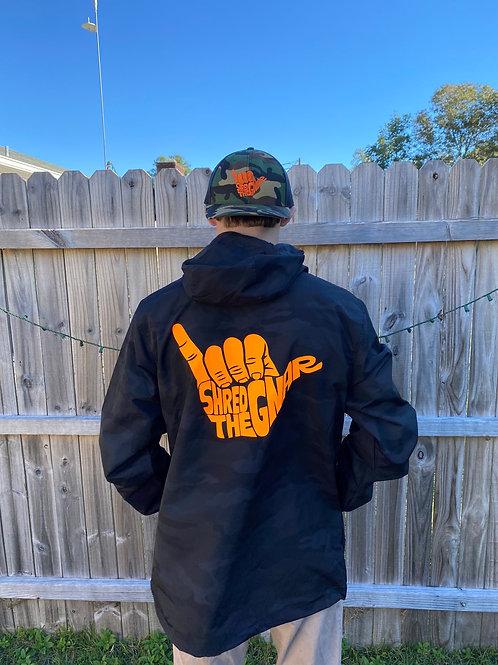 STG Rain Jacket Orange