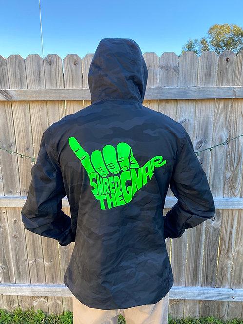 STG Rain Jacket Green