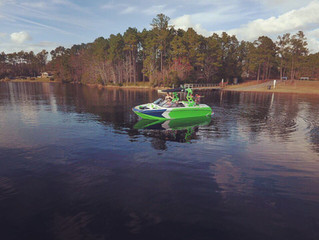 Watersports have started back in the Wilmington area!