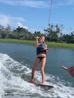 Figure 8 wakeboarding