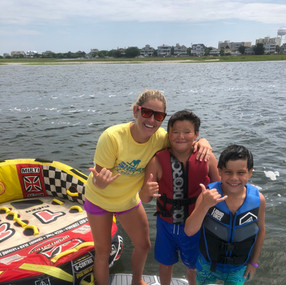 Wrightsville Beach Tubing and wakeboarding