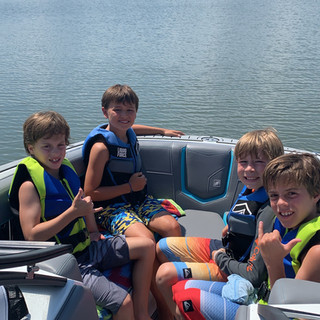 Birthday Party on the water