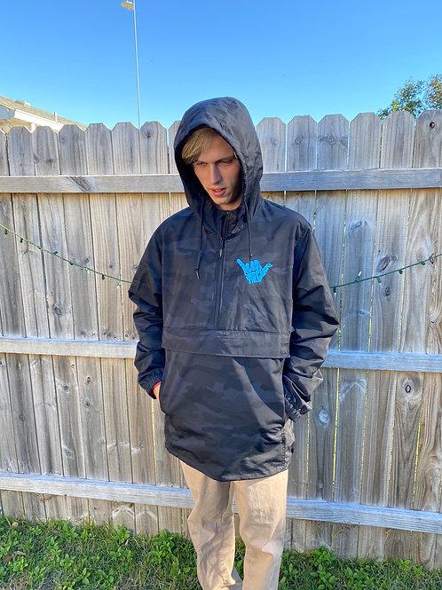 STG Rain Jacket Blue
