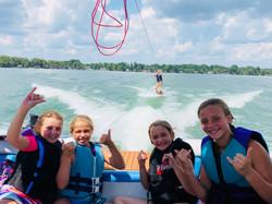 Shred the gnar white lake wakeboard
