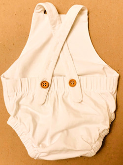 Baby Bloomer with Suspender (Back)