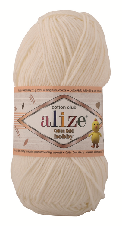 ALIZE COTTON GOLD HOBBY 50g
