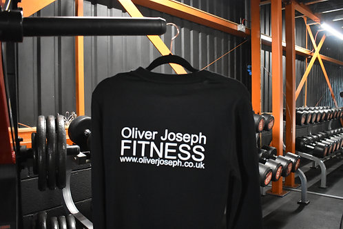 Oliver Joseph Long Sleeve T-Shirt - Black