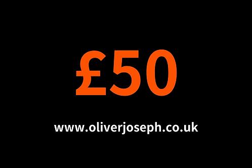£50 E-GIFT CARD