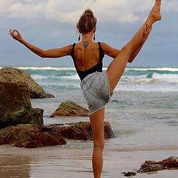 Standing splits yoga teacher training ba