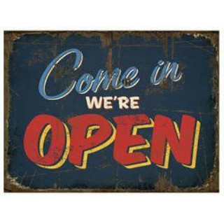 Yes! We're OPEN!_www.extranapkin